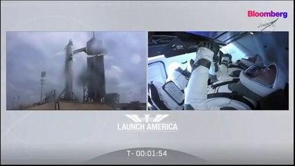 Elon Musk's Space X sends an astronaut into space - Live