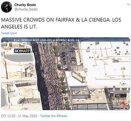Amerika'daki Halk Protestosu Büyüyor