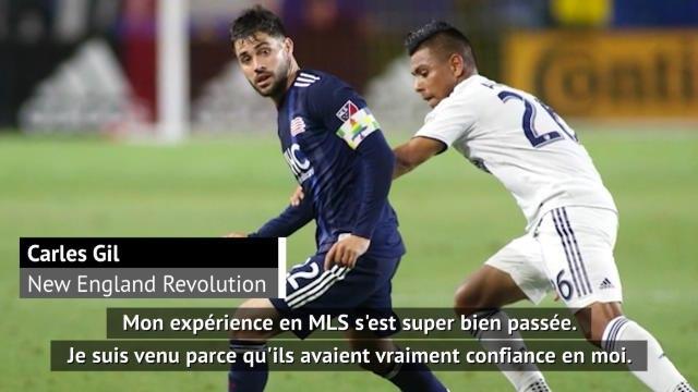 """MLS - Gil (New England) : """"Un championnat meilleur que ce qu'on pense en Europe"""""""
