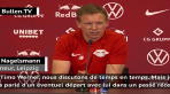"""Transferts - Nagelsmann sur un départ de Werner : """"Comme si Lewandowski quittait le Bayern"""""""