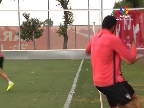 Liga - Le FC Seville se prépare pour le derby