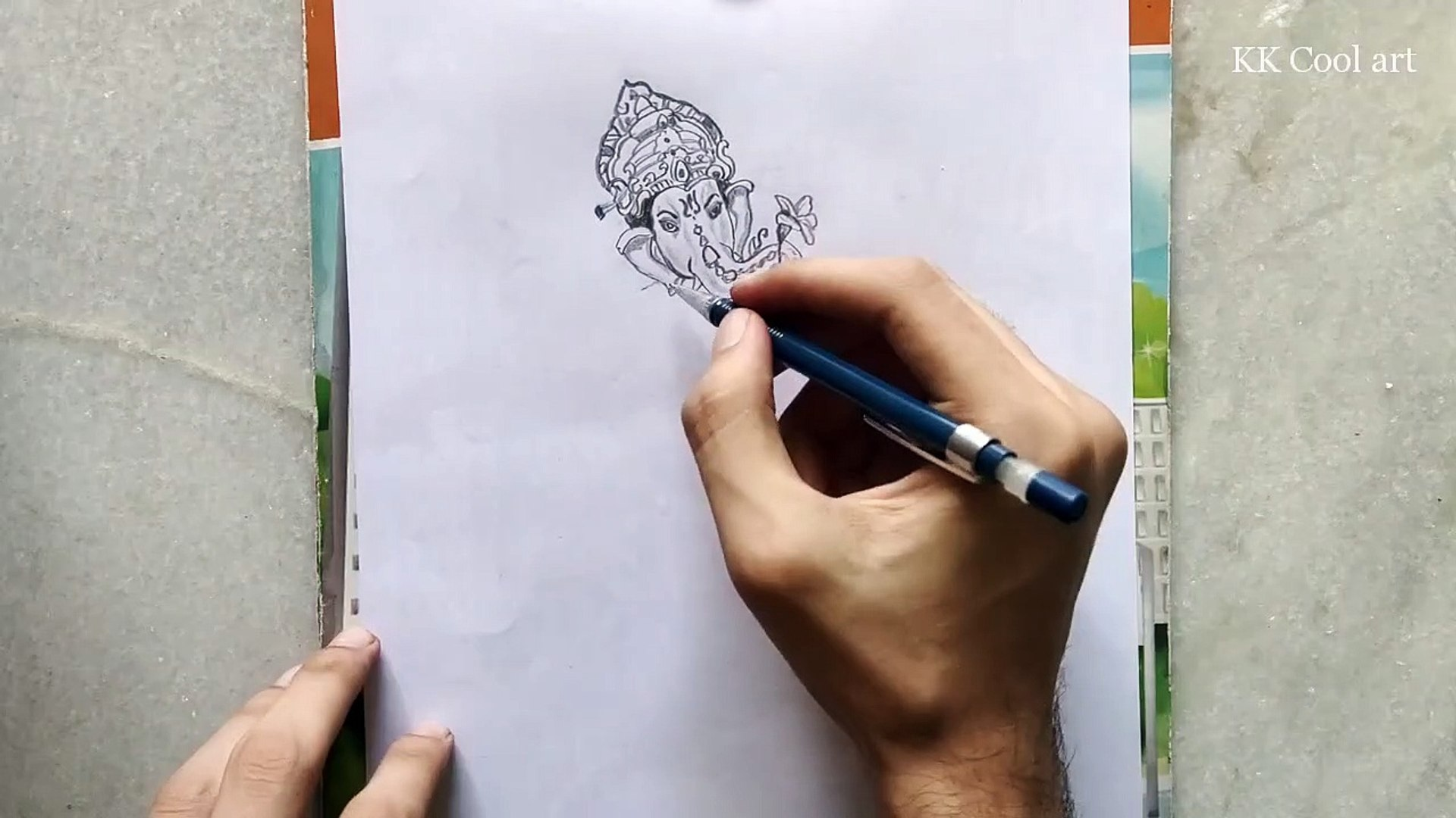 How to Draw Lord Ganesh Easy to Draw!