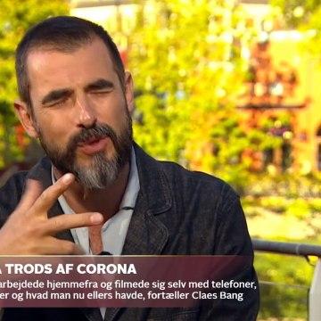 COVID-19; Hvordan er man skuespiller, når der skal holdes to meters afstand ~ Claes Bang | Go aften Live | TV2 Danmark