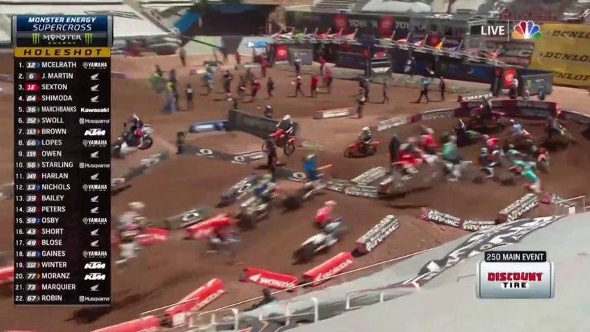2020 AMA Supercross Salt Lake City 250 Main Event HD