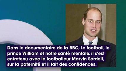 Le prince William se confie avec émotion sur sa paternité et la mort de sa mère Lady Diana