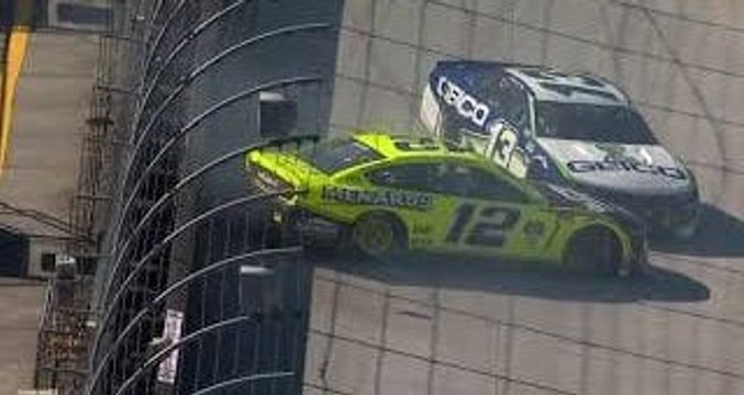 Bad luck at Bristol continues for Blaney