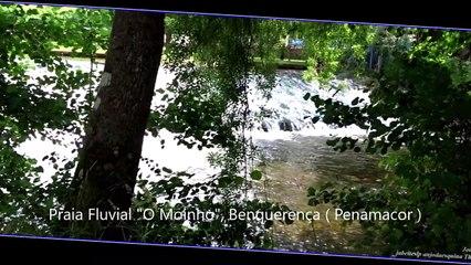 Praia Fluvial O Moinho, Benquerença - Penamacor, Covilhã a 1-6-2020