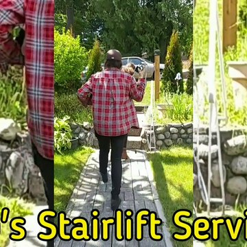 Stairlift Removal from North Vancouver BC home by a temperature-tested crew makes client feel at ease