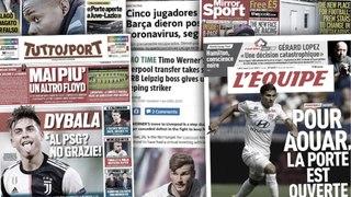 Cinq joueurs du Barça positifs au coronavirus,  Leipzig panique pour Werner