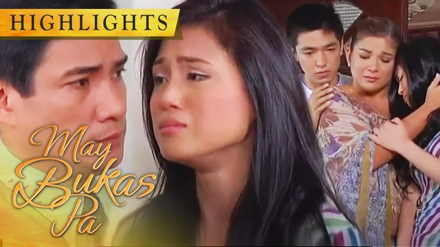 Alex discovers that her father is not really sick | May Bukas Pa