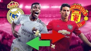 Les 4 joueurs que le Real Madrid voudrait sacrifier pour s'offrir Paul Pogba | Oh My Goal