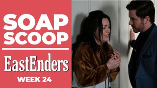 EastEnders Soap Scoop! Whitney tries to kiss Gray