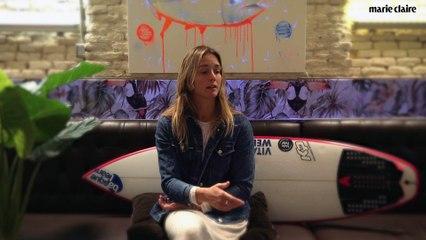 Leti Canales, la surfista vizcaína que aprende en la montaña (1)