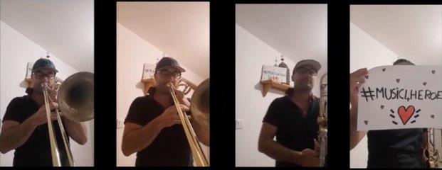 Ronan Yvin interprète Song for health de Steven Verhelst