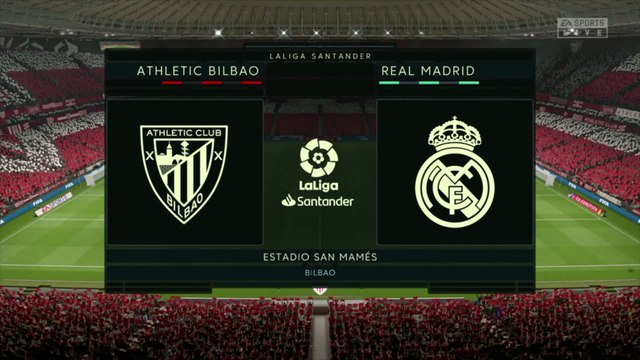 Athletic Bilbao - Real Madrid : notre simulation FIFA 20 (Liga - 34e journée)