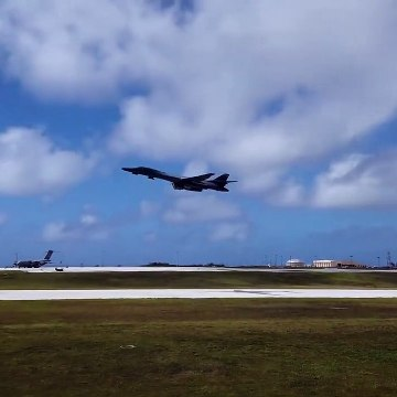 US Air Force - B-1 Lancer Supersonic Variable-Sweep Wing, Heavy Bomber