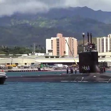 USS Missouri Departs Pearl Harbor Naval Shipyard for Sea Trials - May 10, 2020