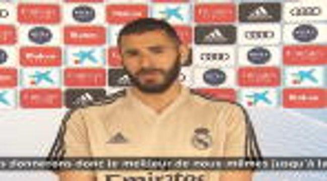 "Real Madrid - Benzema a ""hâte de reprendre la compétition"""