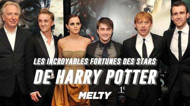 Harry Potter : Les fortunes incroyables des acteurs de la saga