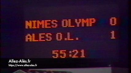 Nîmes / Alès - D2 1990/1991