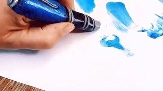 Un drôle de stylo pour dessiner...