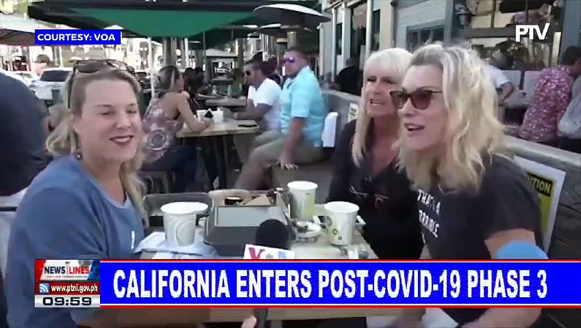 GLOBAL NEWS: California enters post-CoVID-19 phase 3