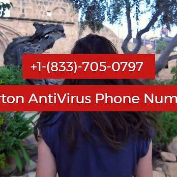 Norton AntiVirus Phone Number +1-(833)-705-0797