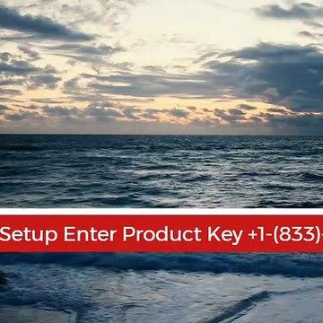 Norton Setup Enter Product Key +1-(833)-705-0797