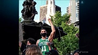 Former Celtics Big Man Leon Powe Gives Powerful Take On Ongoing Protests