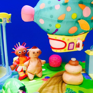 Upsy Daisy Surprise In The Night Garden Pinky Ponk