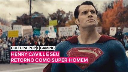 Boas notícias, Henry Cavill ainda tem sua capa de Super-Homem