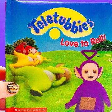 Teletubbies Love To Roll Book تليتبيز كتاب
