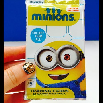 Minions Movie Trading Cards Collection