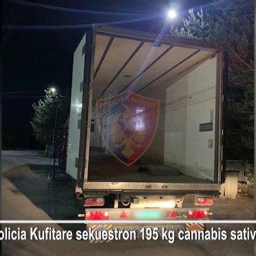 Si u sekuestruan 195 kg kanabis në një kamion, 4 në pranga