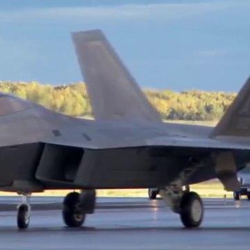 Fighter Jet F-22 Raptor | Lockheed Martin F-22 Raptor in Action