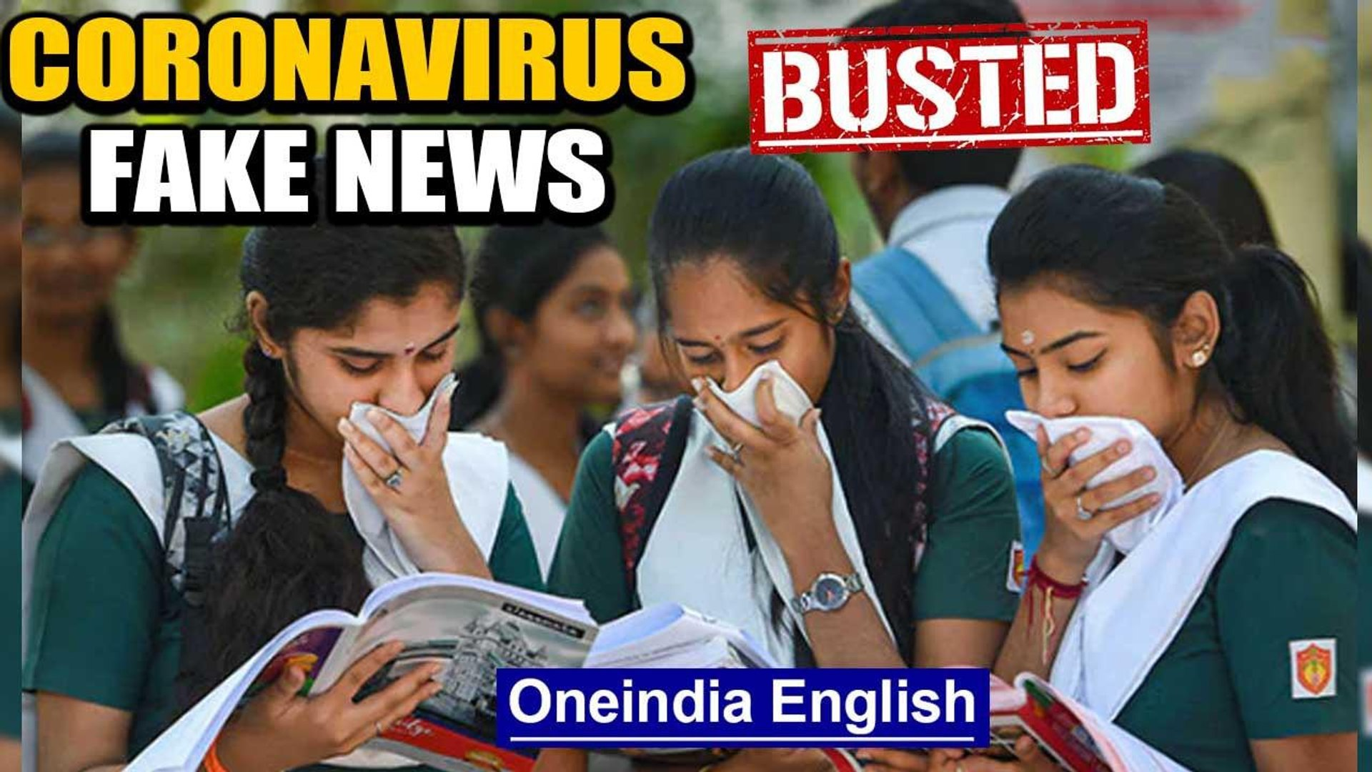Fact check: Does sanitizer cause skin cancer and is there a CBSE app for exams? | Oneindia News