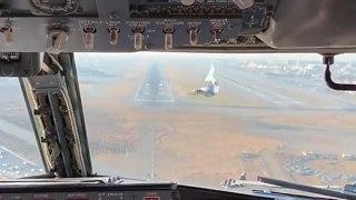 Un avion de ligne percute un oiseau au moment de l'atterrissage