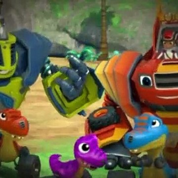 Blaze and the Monster Machines S04E07 T Rex Trouble