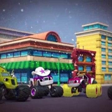 Blaze and the Monster Machines S04E12 Snow Day Showdown