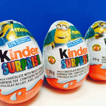 Minions Kinder Surpise Toy Chocolate Easter Eggs