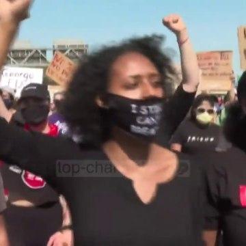 """Top News - SHBA në """"flakë""""/ S'ndalet dhuna, vritet një protestues"""