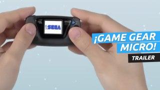 Tráiler de Game Gear Micro