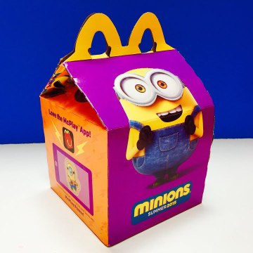 McDonalds Happy Meal Surprise Dancing Singing Minion Vampire Pirate Toys