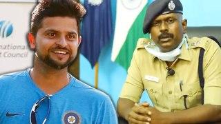 Suresh Raina praises TN police