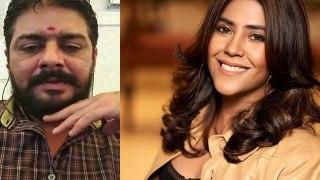 Hindustani Bhau After FIR against Ekta Kapoor: People are calling me to sit and talk । FilmiBeat