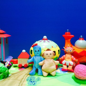 Iggle Piggle Blanket and The Ninky Nonk Toy In The Night Garden
