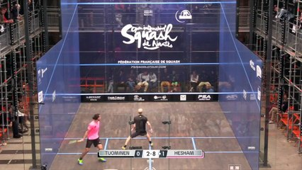 Squash: Signature Shots - Hesham's Falcon Flick