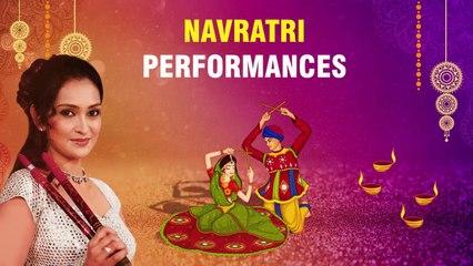Lalitya Munshaw Navratri Showreel | Raas Garba Performances