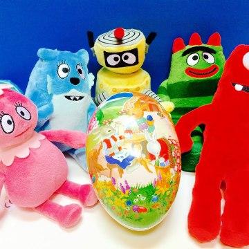 Yo Gabba Gabba Toys GIANT Easter Egg Surprise-