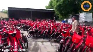 Uber jette des milliers de vélos électriques ! Retour sur cette sombre affaire !